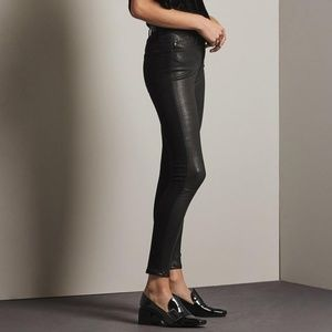 Ag The Farrah Skinny Ankle High Rise Skinny Ankle